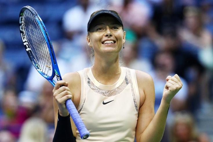 Мария Шарапова одержала победу на турнире в Абу-Даби