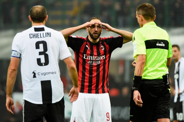 Милан ювентус 0 2