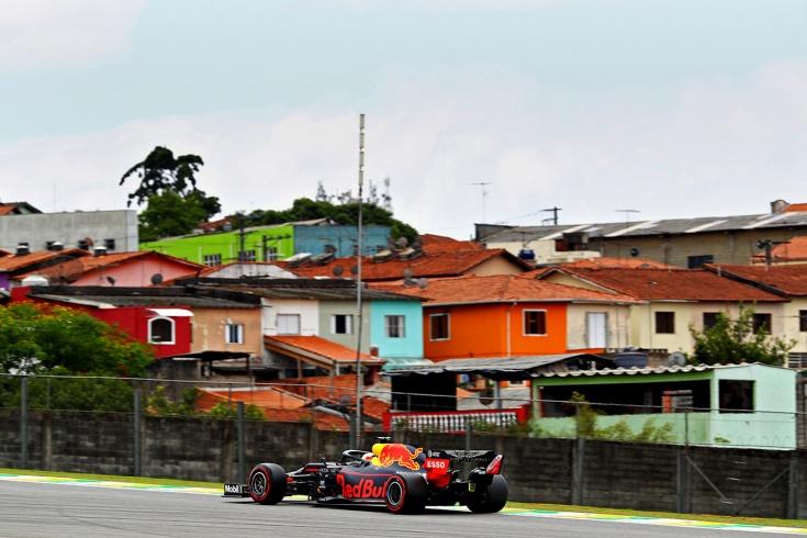 Ферстаппен выиграл квалификацию Гран-при Бразилии