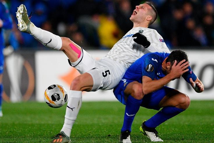 «Хетафе» — «Краснодар» — 3:0, 12 декабря 2019, обзор матча Лиги Европы