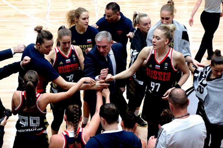 Женская сборная России начала отбор на Евробаскет с поражения