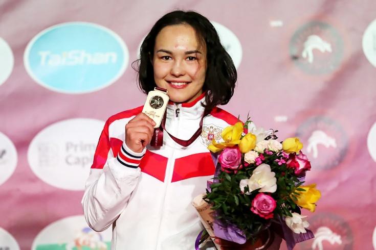 Стальвира Оршуш выиграла золотую медаль