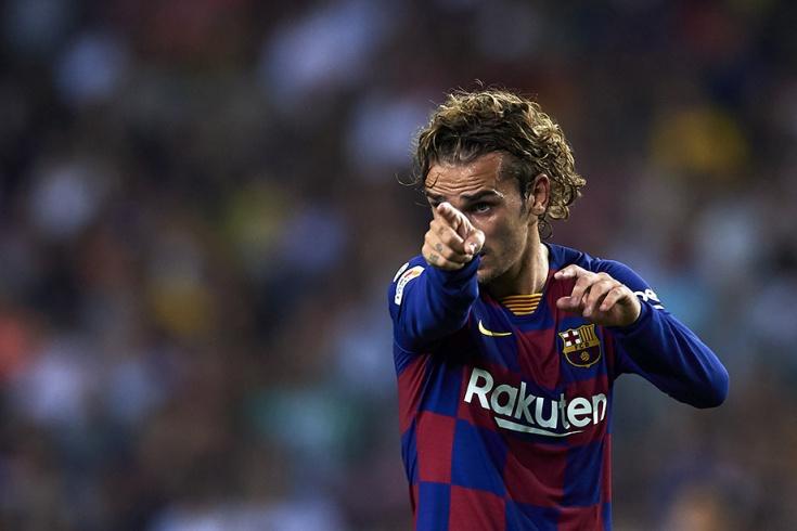 «Барселона» — «Бетис» 5:2, голы Гризманна
