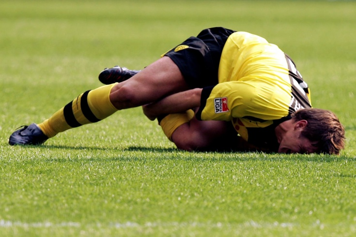 Самые нелепые травмы футболистов