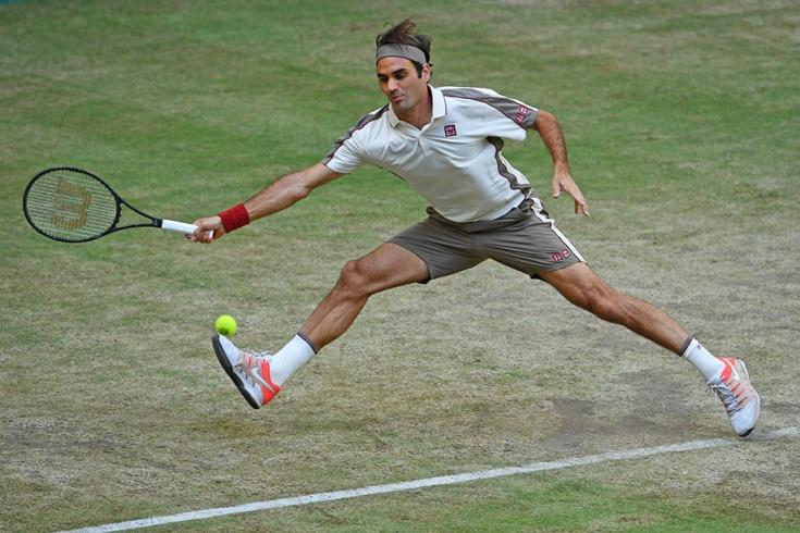 Роскошные удары Федерера