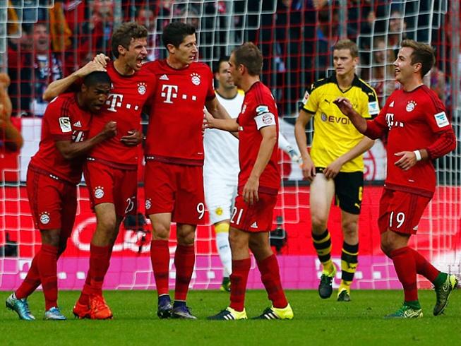 Бавария боруссия д 5 1 обзор матча