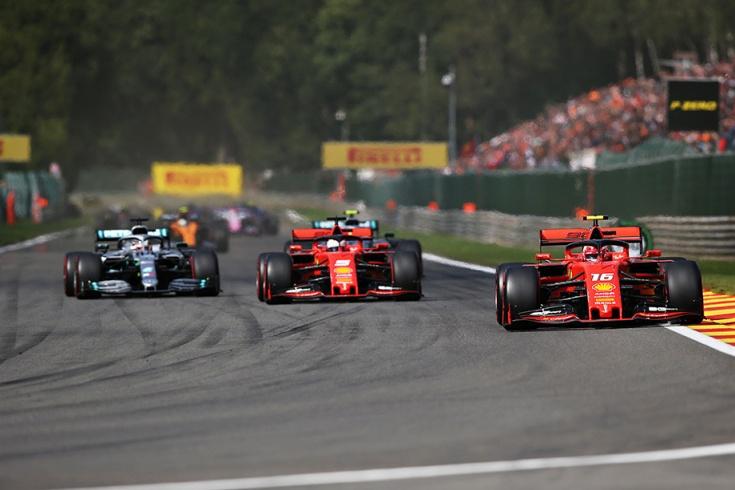 Леклер выиграл Гран-при Бельгии