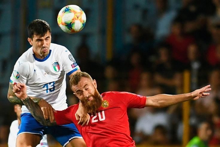 Армения – Италия – 1:3, 5 сентября 2019 года