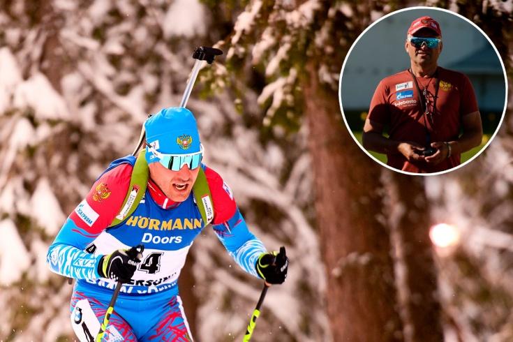 Тренер сборной России по биатлону Белозёров не ставит крест на Гараничеве