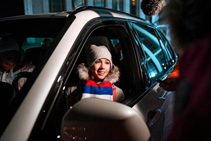 Олимпийская чемпионка Алина Загитова не была наказана за вождение без прав