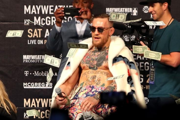 Конор Макрегор — Дональд Серроне, гонорары бойцов, UFC 246, 18 января 2020 года