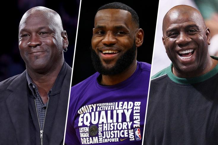 Составляем рейтинг лучших баскетболистов в истории НБА