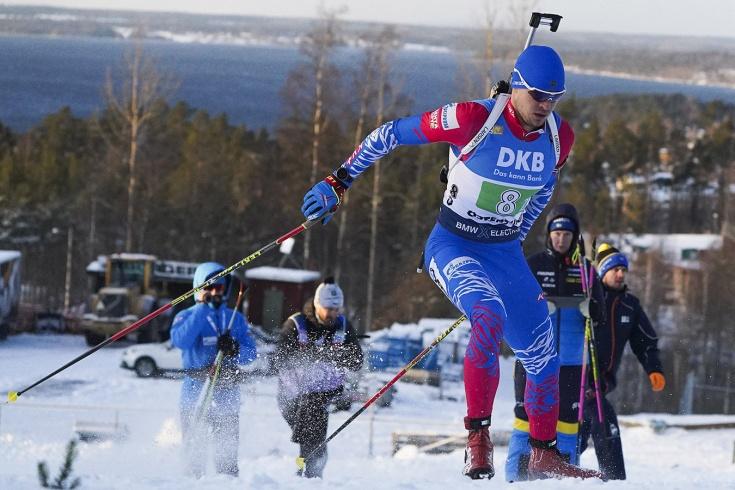 Россия стала четвёртой в смешанной эстафете на этапе Кубка мира в Швеции