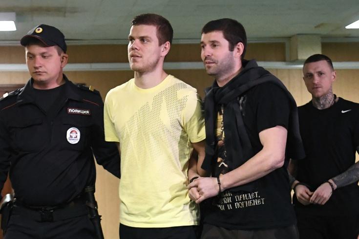 Друг Кокорина и Мамаева вышел на свободу. Футболис