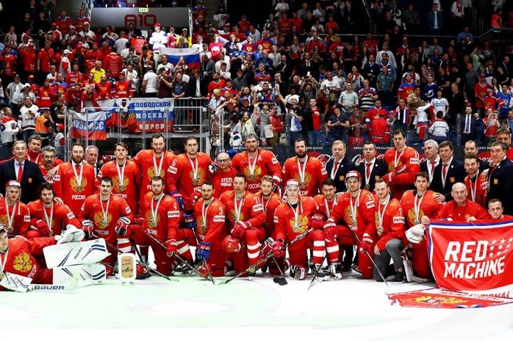 Россия взяла бронзу чемпионата мира по хоккею