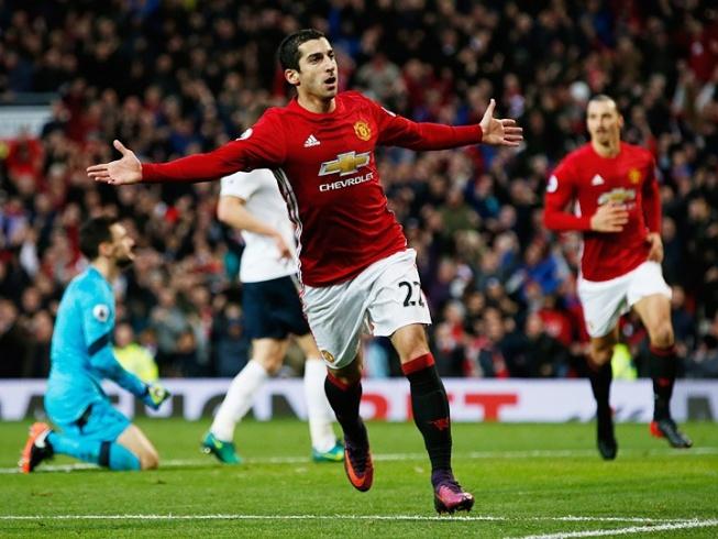 Манчестер юнайтед тоттенхэм голы 3 0