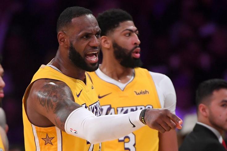 «Лос-Анджелес Лейкерс» — «Даллас Маверикс» — 108:95, обзор матча НБА