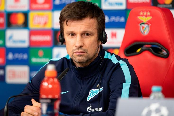 Лига чемпионов, Сергей Семак рассказывает о матче «Бенфика» – «Зенит»
