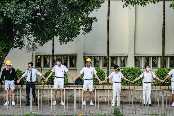 Спорт вне политики? Теннисного турнира в Гонконге не будет из-за протестов