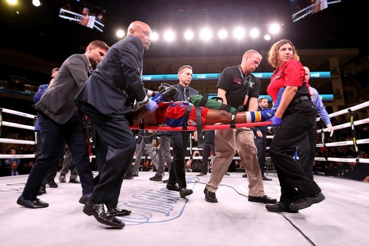 Американский боксёр скончался после нокаута в анде