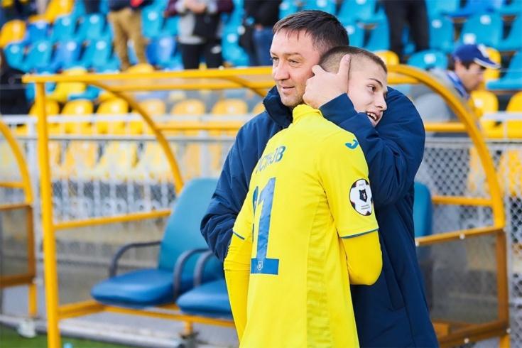 Михаил Осинов-младший и Михаил Осинов-старший