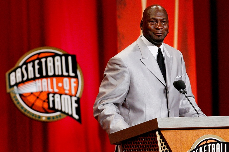 10 лет назад Майкл Джордан стал членом Зала баскетбольной славы