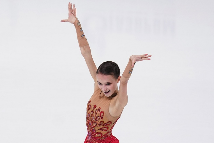Фигуристка Щербакова защитила звание чемпионки России