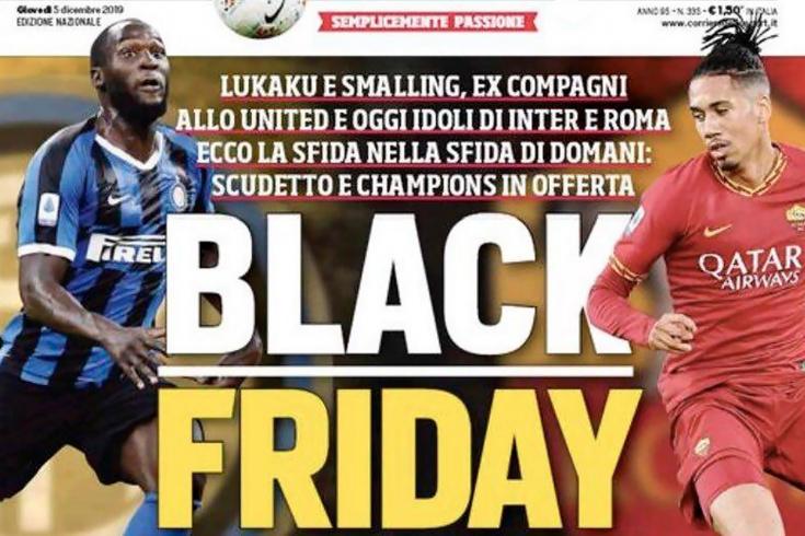 Скандал перед матчем Серии А «Интер» – «Рома»
