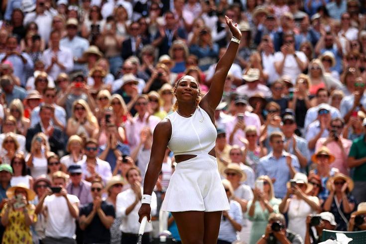 Серена Уильямс сыграла в теннис с мужчинами