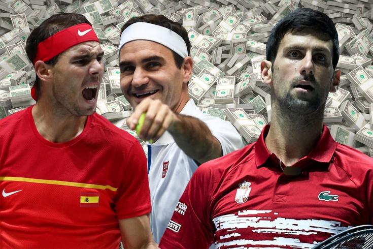 Надаль, Джокович и Барти заработали больше всех в теннисе за 2019 год