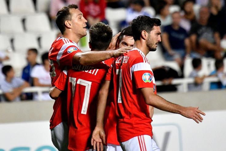Кипр – Россия – 0:5
