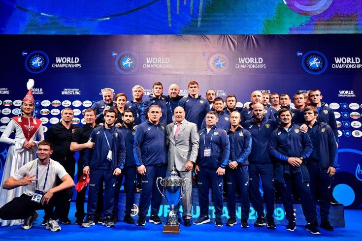Борцы недобрали медалей на ЧМ-2019