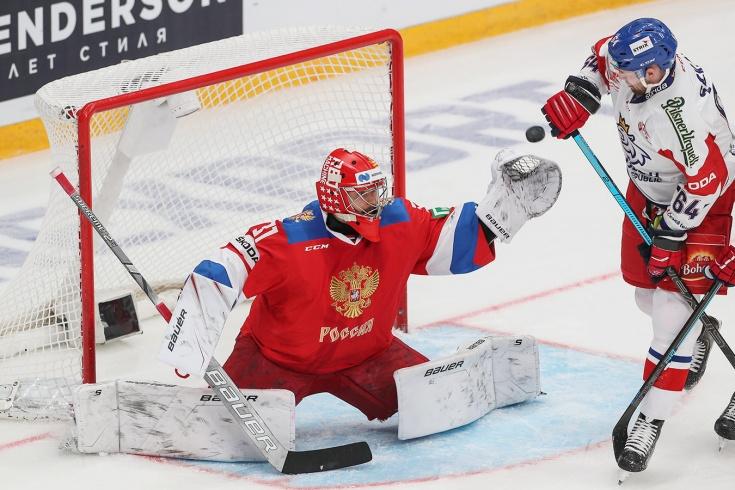 Россия – Чехия – 4:3 Б, обзор матча Кубка Первого канала — 2019