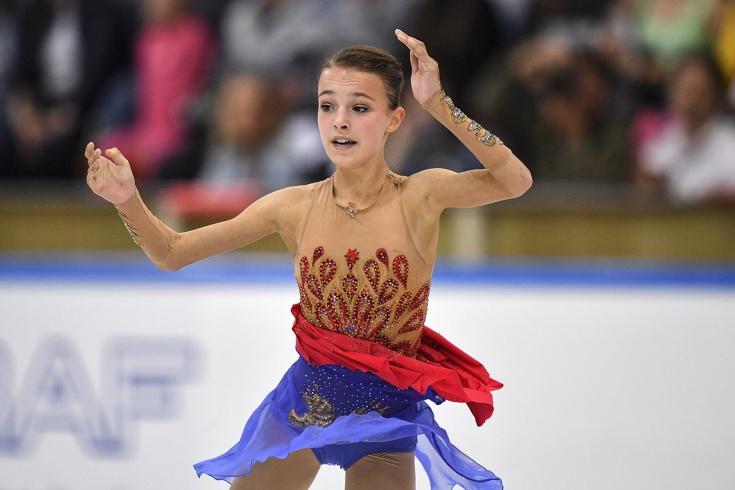 Щербакова с личным рекордом выиграла короткую прог