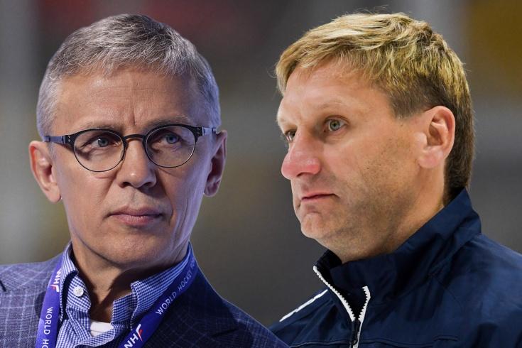 Ларионов и Хабибулин стали тренерами