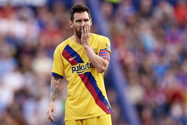 «Леванте» — «Барселона» — 3:1, Лионель Месси