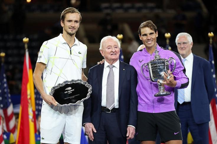 Медведев, Лэйвер и Надаль на US Open