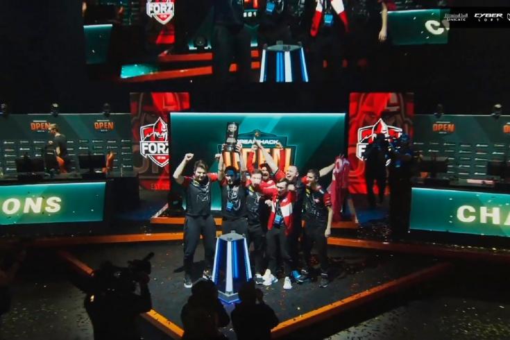 Российская команда forZe выиграла DreamHack Open W
