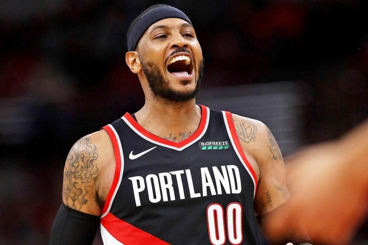 Форвард «Портленда» Кармело Энтони стал игроком недели в НБА