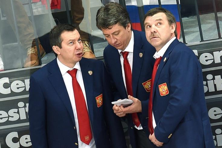 Олег Знарок и его помощники