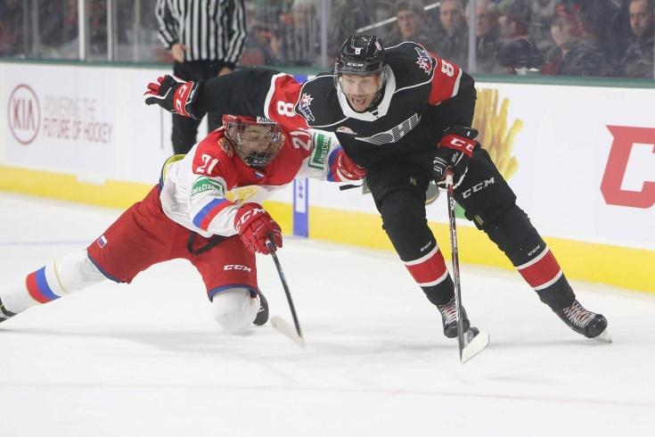 Сборная Канады (WHL) — Сборная России (U20) — 2:1