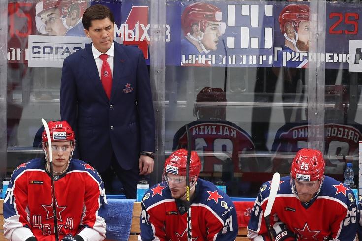 ЦСКА проиграл четыре матча подряд в регулярке