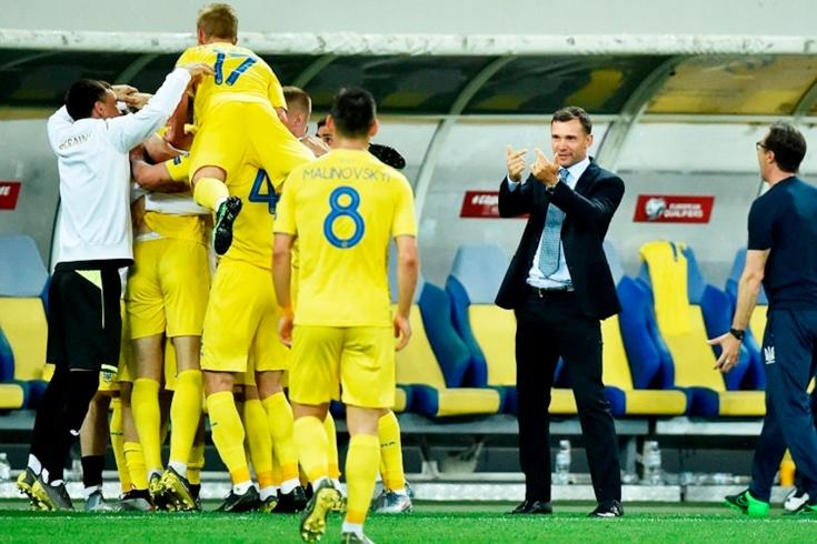 Шевченко почти вывел сборную Украины на Евро