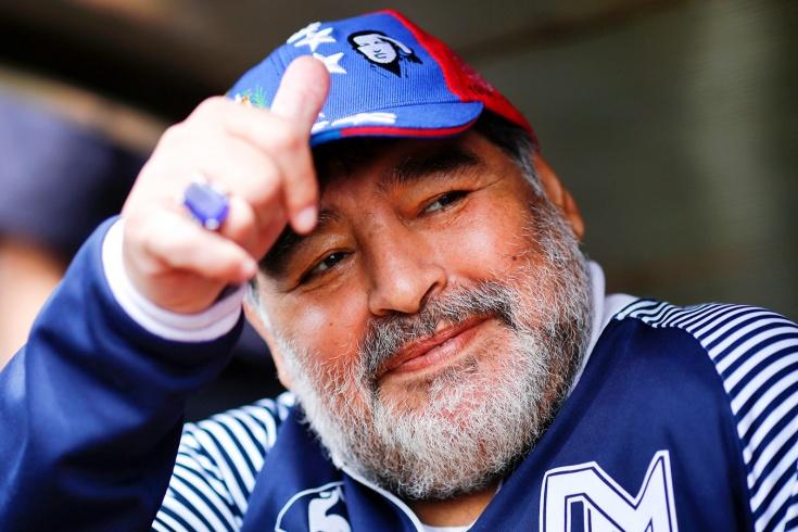 Марадона может покинуть «Химнасию». Он возглавил к
