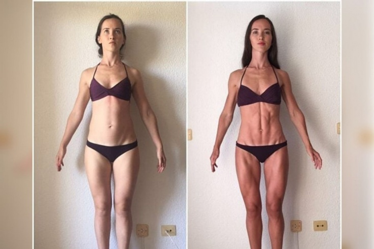 Как девушке похудеть за месяц? Эффективная женская сушка до и после, личный опыт