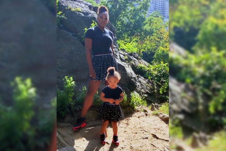 Серена Уильямс может зарабатывать тысячи евро на своей дочери