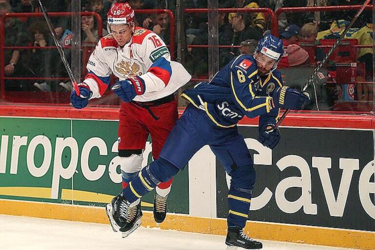 Сборная Швеции – сборная России – 6:4