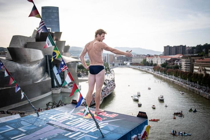 Финал мировой серии Red Bull Cliff Diving