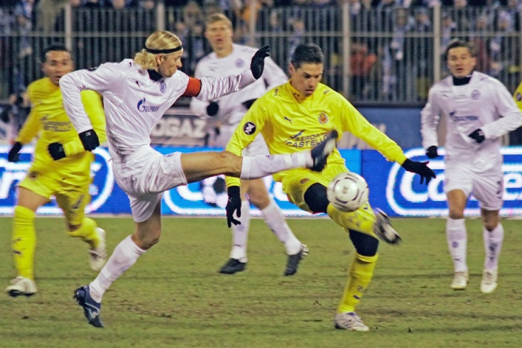 Трансляция матча зенит реал мадрид 10. 12. 2008