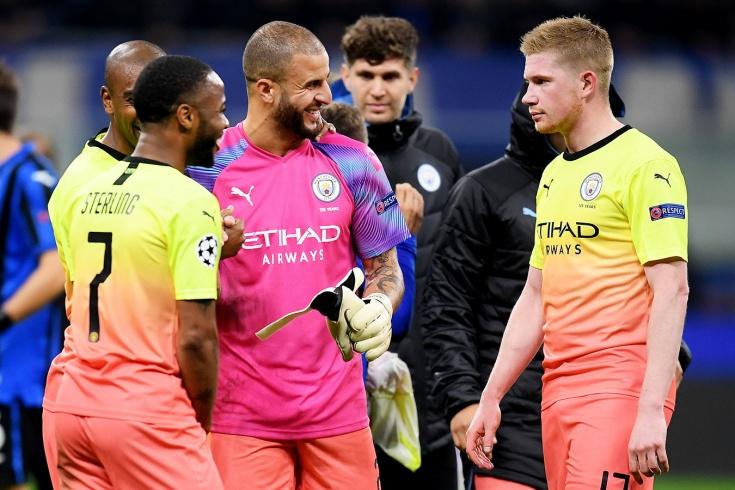 Защитник «Манчестер Сити» Уолкер встал в ворота